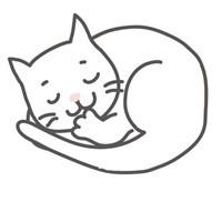 寝顔が酷い美猫