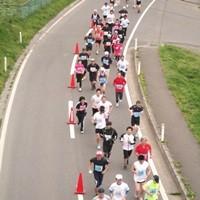 千葉県民マラソンに千葉ットマン