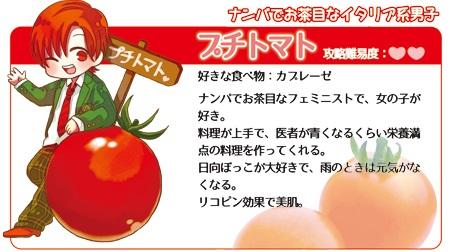 食べごろ彼氏 育成セット「プチトマト」
