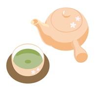 緑茶で長寿に