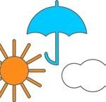 天気予報をするインテリア